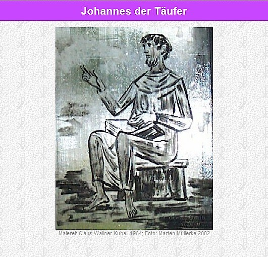 Fensterbild re02 Johannes der Täufer